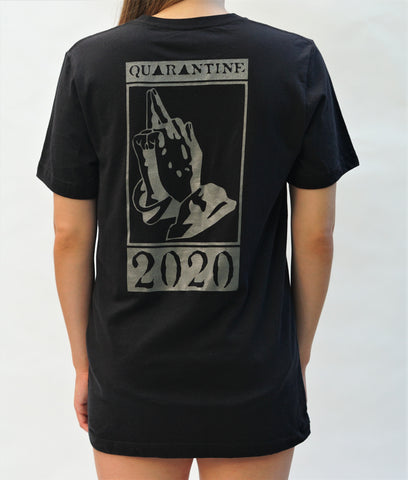 Quarantine 2020 T-shirt (BACK LOGO)