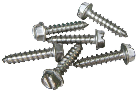 "#6 X 3/4"" Stainless steel screw for tubing clamps."