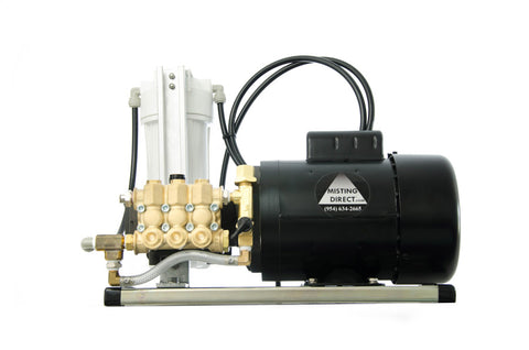 Commercial Duty Misting Pump 1/3 GPM, 1000 PSI
