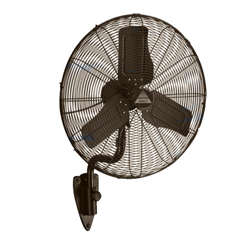 "24"" Oscillating Misting Fan w/ Mist Ring & Ruby Nozzles (Oil Rubbed Bronze)"