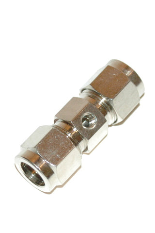 "3/8"" Compression Nozzle Adapter Nickel Plated Brass (C3NA)"