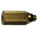 "1/2"" High Pressure   Mist Nozzle Extension Brass (MDX1/2B)"