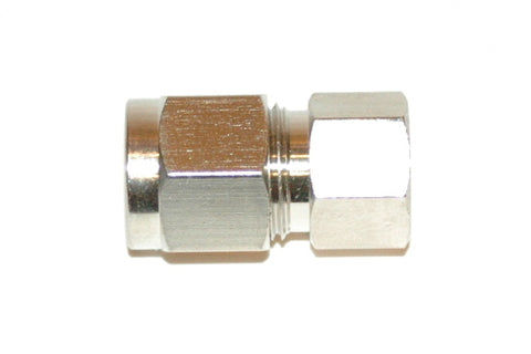 "3/8"" Compression End Cap Nickel Plated Brass (C3END)"