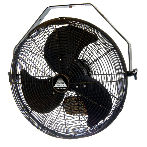 "Indoor/Outdoor 18""  Fan for Wet Locations"
