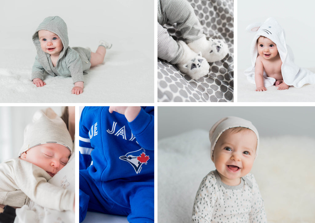 sleepers, hats, Blue Jays sleeper, towel and hoodie