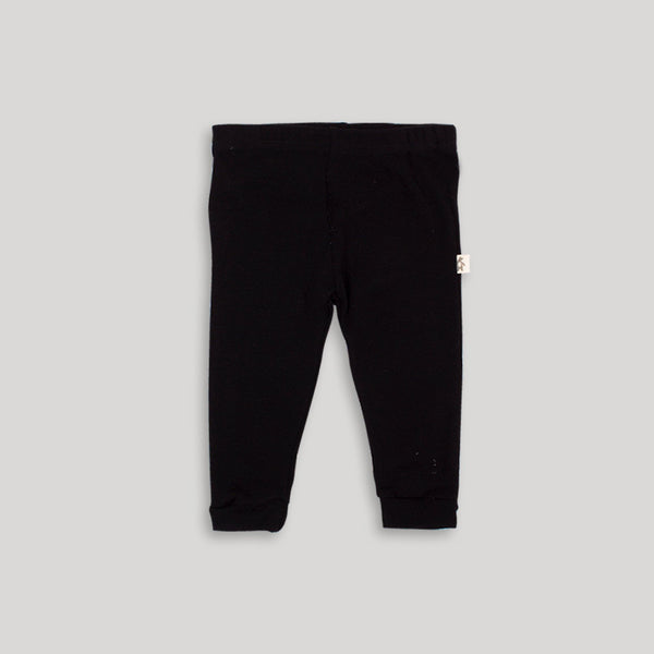 Black Basic Pants - Snugabye Canada