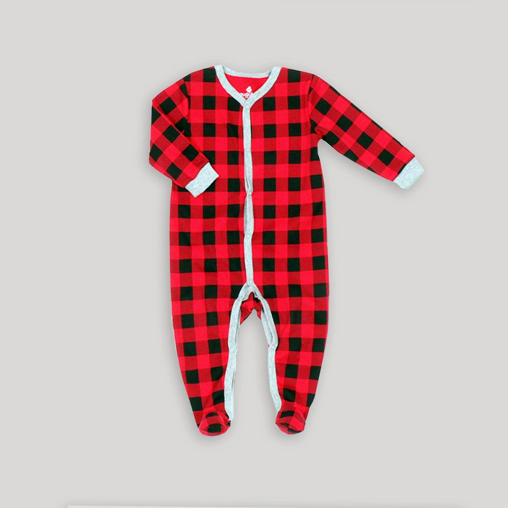 Baby Holiday Buffalo Plaid Bundle - Snugabye Canada
