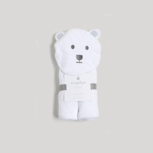 Bear Hooded Towel - Snugabye Canada