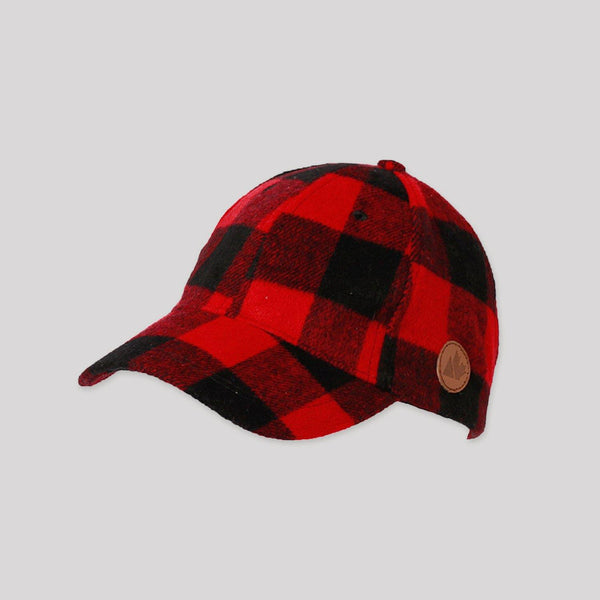 Adult Buffalo Plaid Baseball Cap - Snugabye Canada