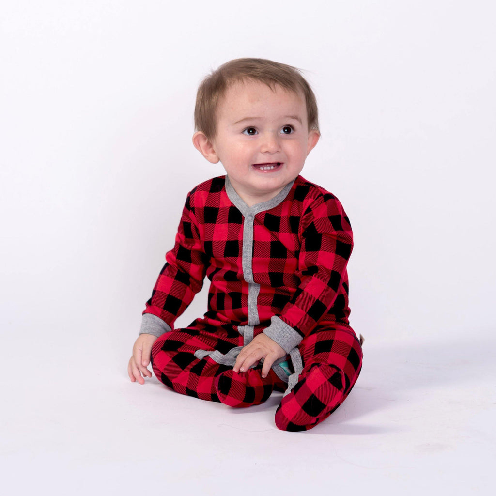 Buffalo Plaid Sleeper - Snugabye Canada