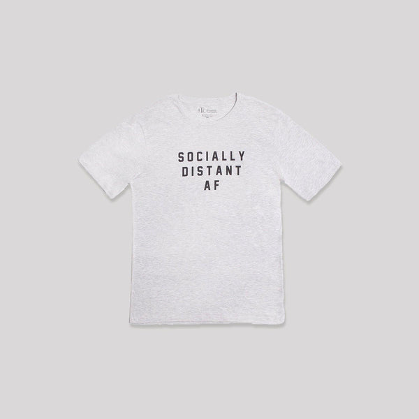 Adult Socially Distant AF T-Shirt - Snugabye Canada
