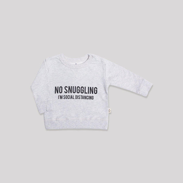 No Snuggling Toddler Pullover - Snugabye Canada