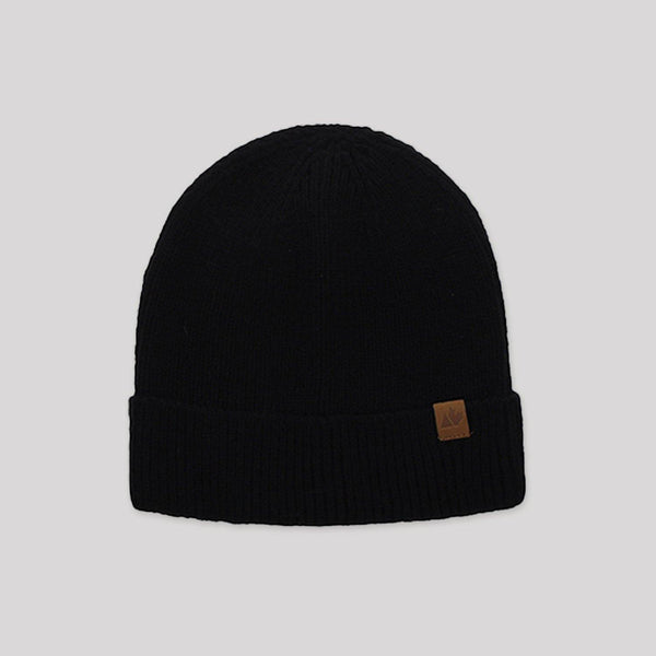 Adult Knit Beanie in Black - Snugabye Canada