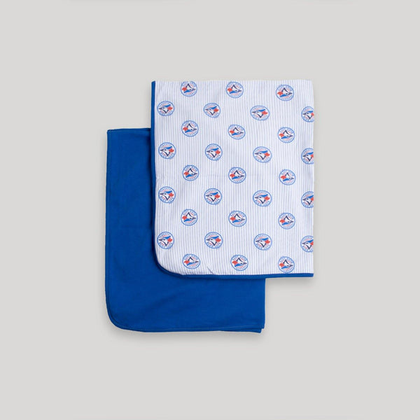 Blue Jays 2 Pack Receiving Blanket - Snugabye Canada