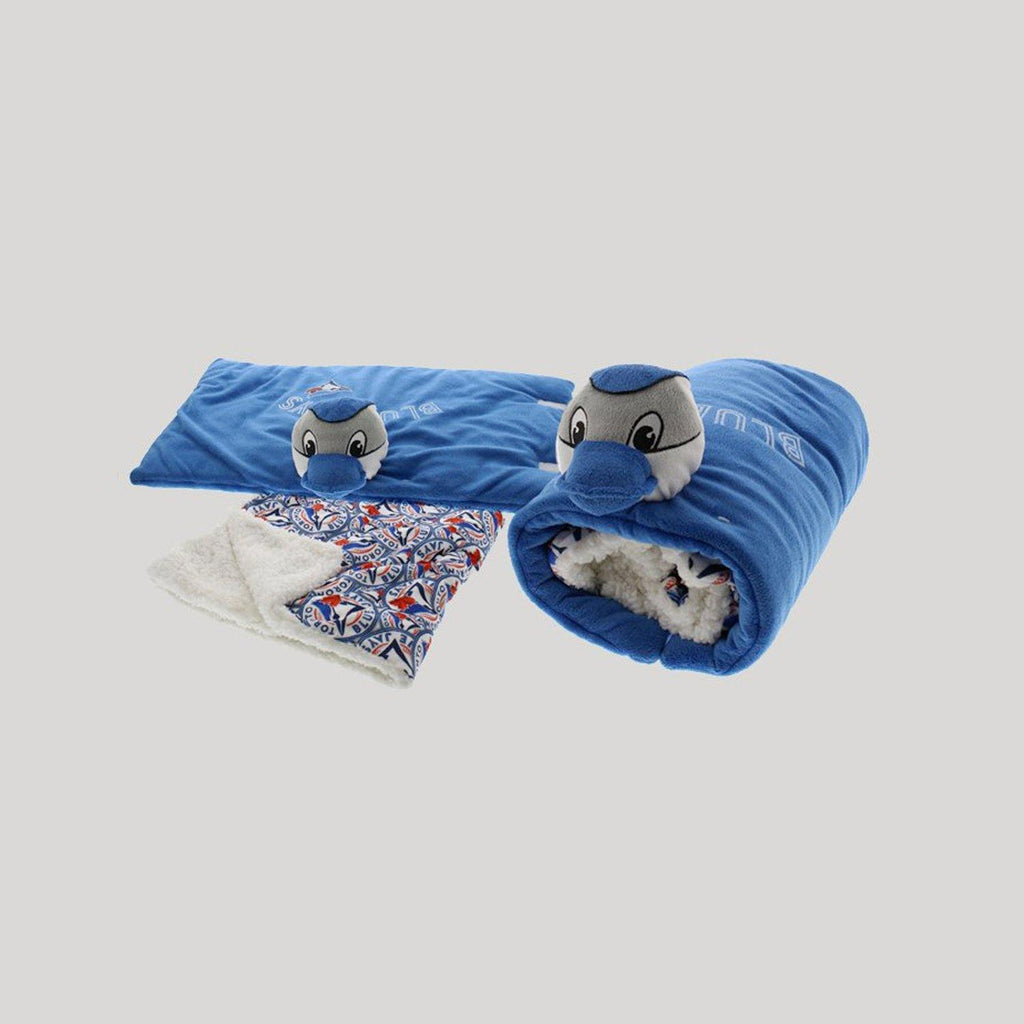 Blue Jays 3D Blanket & Pillow Set - Snugabye Canada