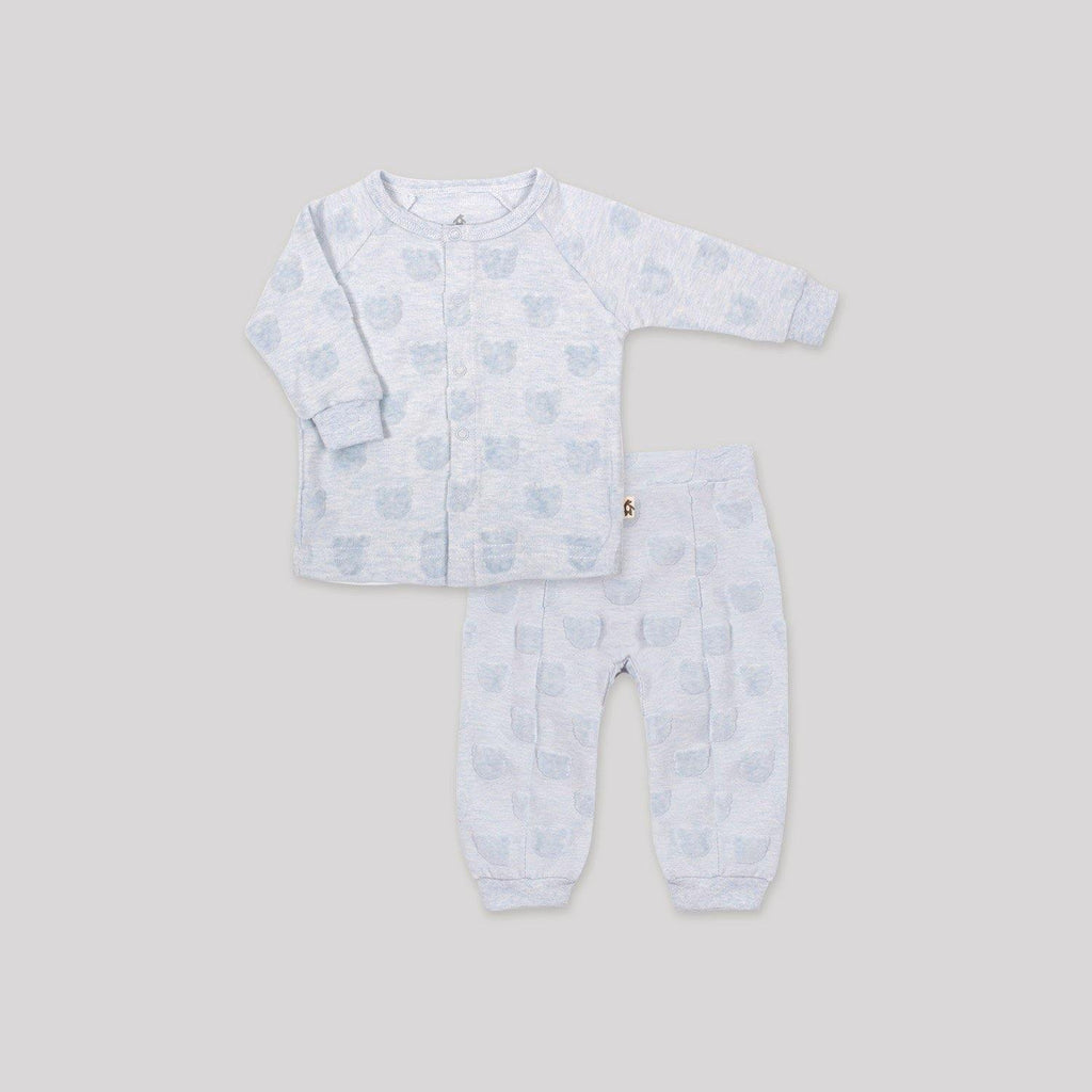 Blue Velour 2-Piece Set - Snugabye Canada