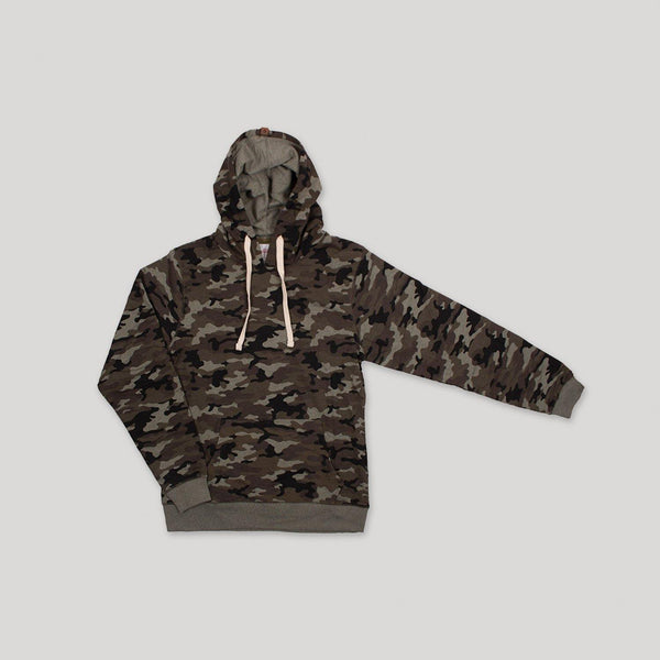 Adult Camo French Terry Hoodie - Snugabye Canada