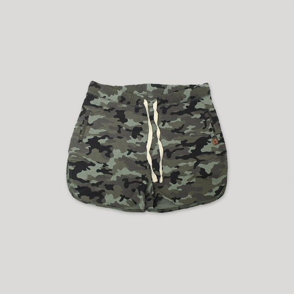 Adult Camo French Terry Shorts - Snugabye Canada