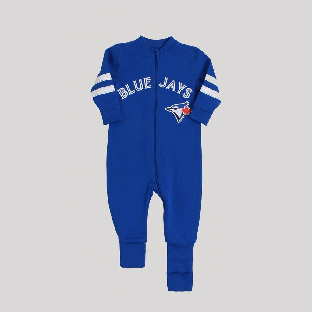 Blue Jays Blue Convert-A-Foot Sleeper - Snugabye Canada
