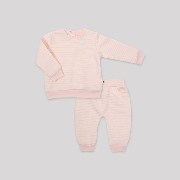 Pink Quilted 2 Piece Set - Snugabye Canada