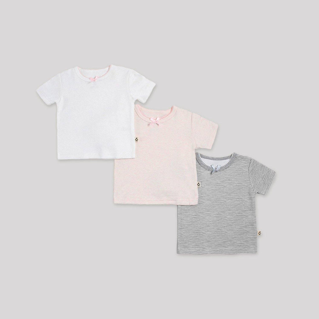 Basics Short Sleeve T-Shirts 3 Pack - Snugabye Canada