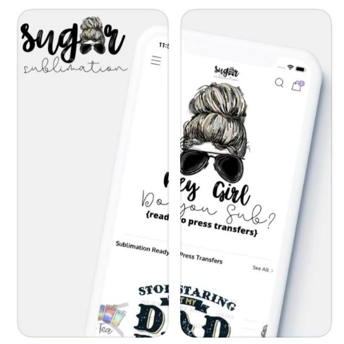 sublimation transfers app