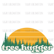 SUBLIMATION TRANSFER | Retro Tree Hugger