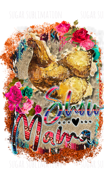 Show Mama farm animal - sublimation transfer
