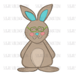 Easter Bunny BOY | GIRL - drawing - full body - sublimation transfer