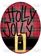 Holly Jolly Plaid - sublimation transfer
