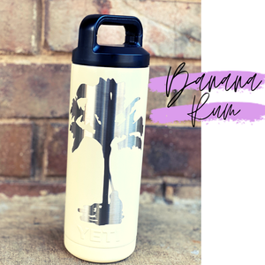 Stainless Water Bottle {custom powder coated)