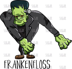Frankenstein Floss like a boss - sublimation transfer