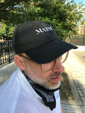 Black Math Cap