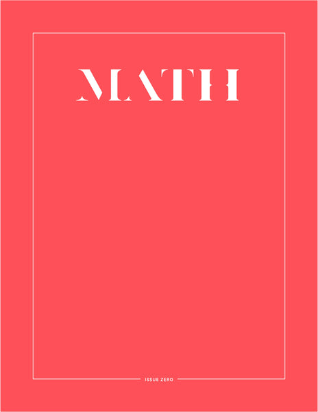 Math Magazine Commemorative Cover