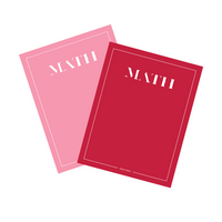 Math Magazine, Issue Seven & Eight