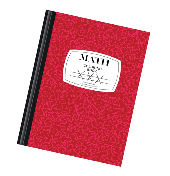 DIGITAL EDITION: Math Adult Coloring Book