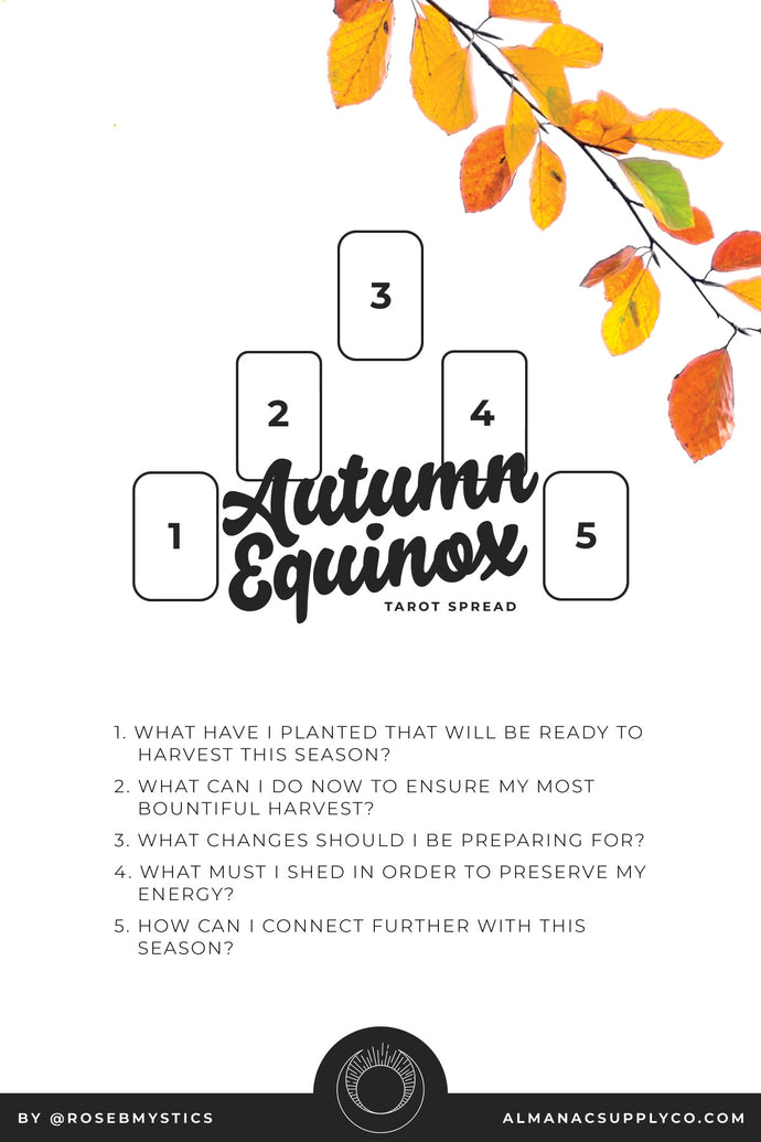 Autumn Equinox Tarot Spread