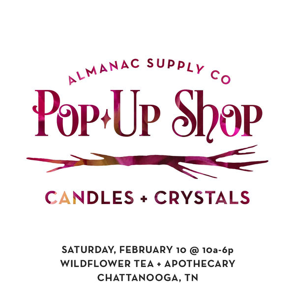 Pop-Up Shop at Wildflower Tea + Apothecary
