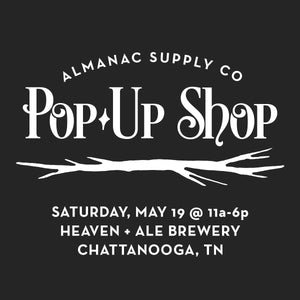 Spring Pop-Up Shop at Heaven + Ale Brewery