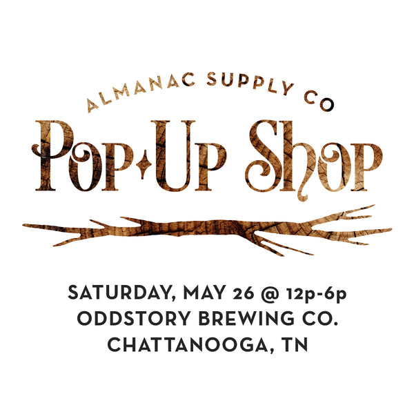Spring Pop-Up Shop at Oddstory Brewing Co.