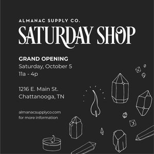 Saturday Shop Grand Opening