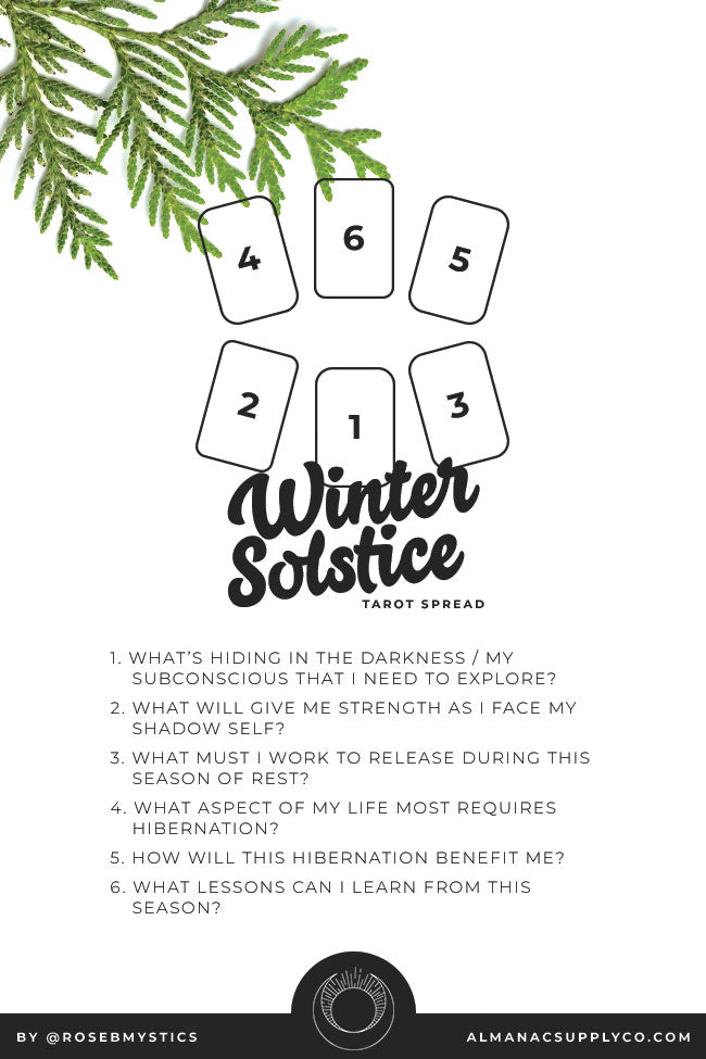 Winter Solstice Tarot Spread