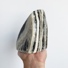 Zebra Calcite Polished Freeform