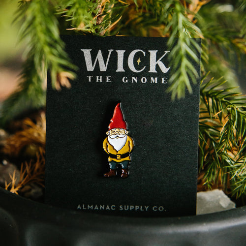Wick the Gnome Enamel Pin