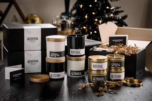 Seasonal Candle Set – Closeout