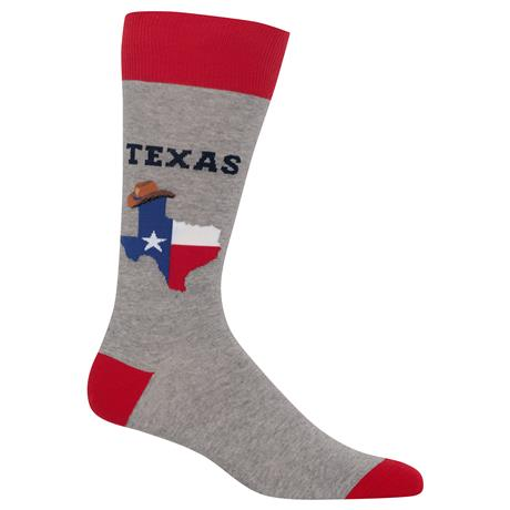 Hot Sox Men's Socks - Texas