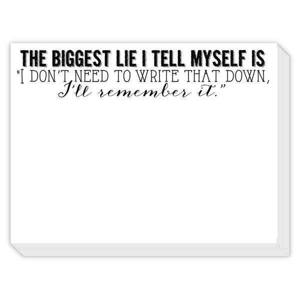 Rosanne Beck Slab Pad - The Biggest Lie I Tell