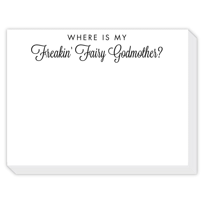Rosanne Beck Slab Pad - Where Is My Freakin Fairy Godmother