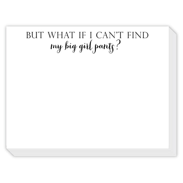 Rosanne Beck Slab Pad - But What If I Cant Find My Big Girl Pants