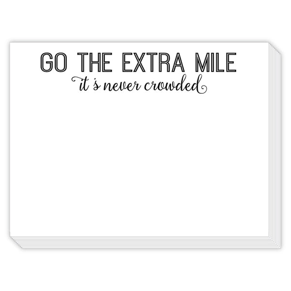 Rosanne Beck Slab Pad - Go The Extra Mile